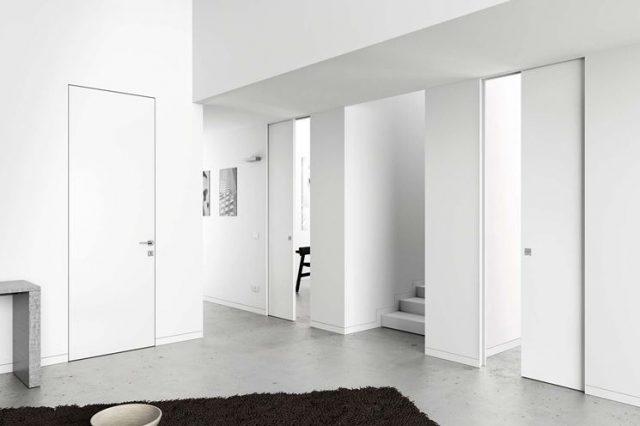Pavimento Scuro Rimpicciolisce : Quale parquet scegliere con le porte bianche: idee soluzioni foto